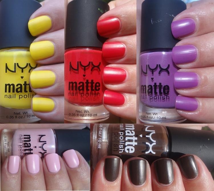 NYX Matte nail polish. | OrdinaryMisfit