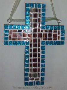 Mirrored mosaic crosses