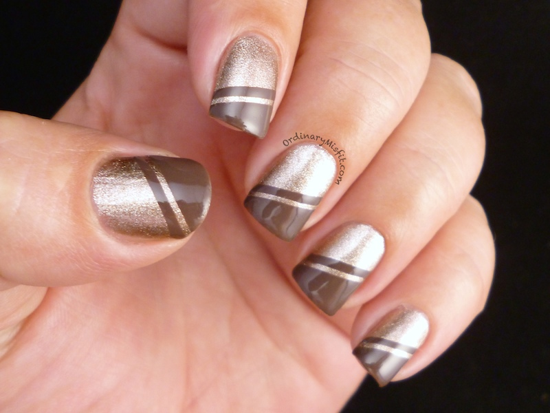 Autumn angles nail art 4