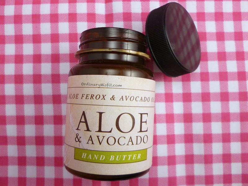 Rain Aloe & Avo hand butter 2