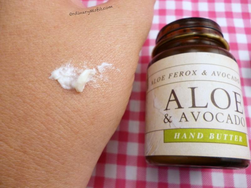 Rain Aloe & Avo hand butter 4