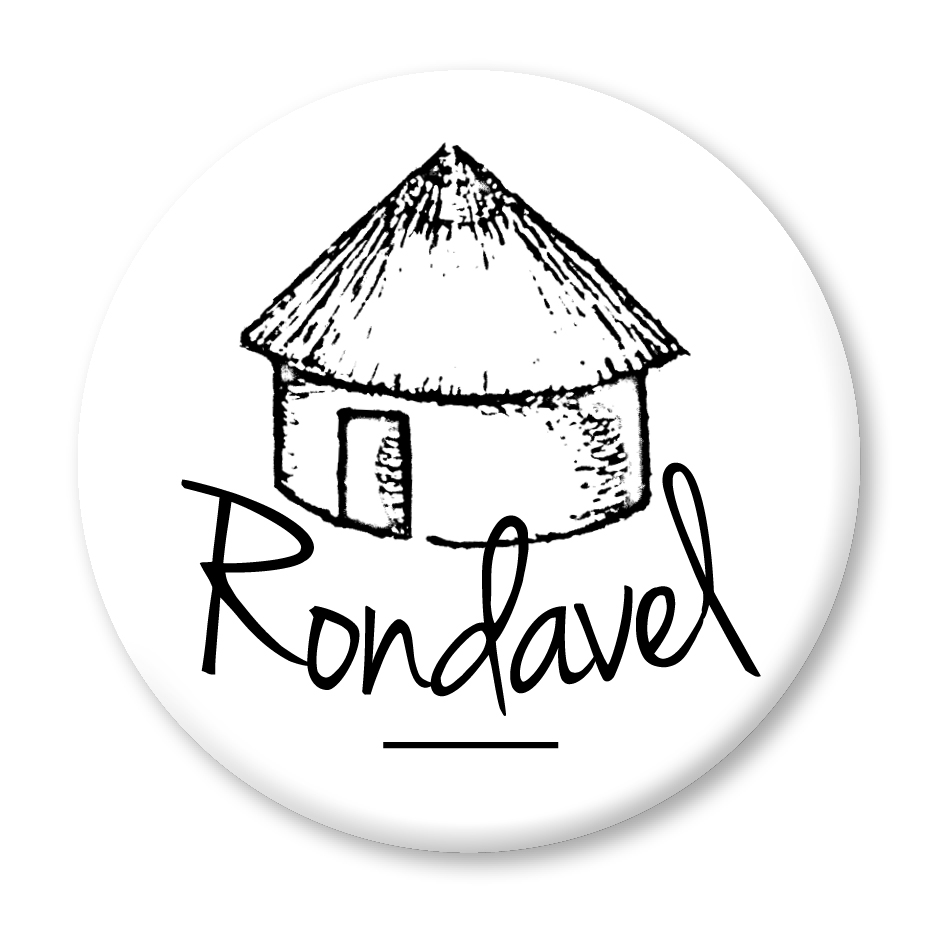 Rondavel logo WHITE