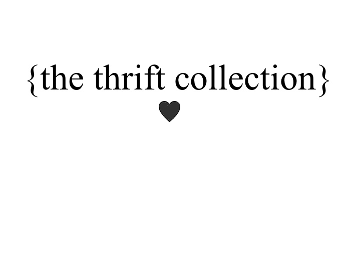The Thrift collection