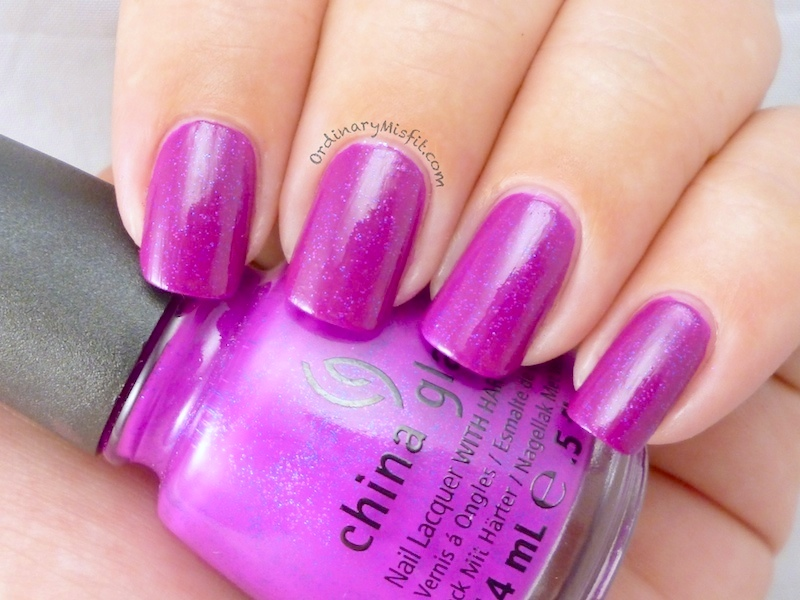 China Glaze - Flying dragon with topcoat