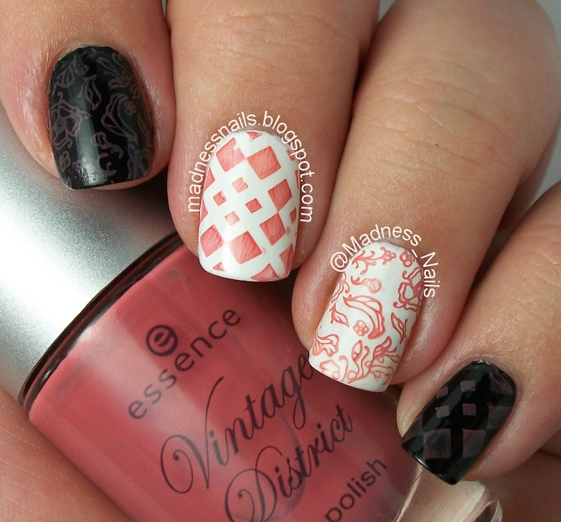 M Stamping Swatch