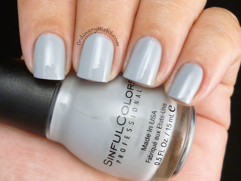 Sinful Colors - Cool Gray