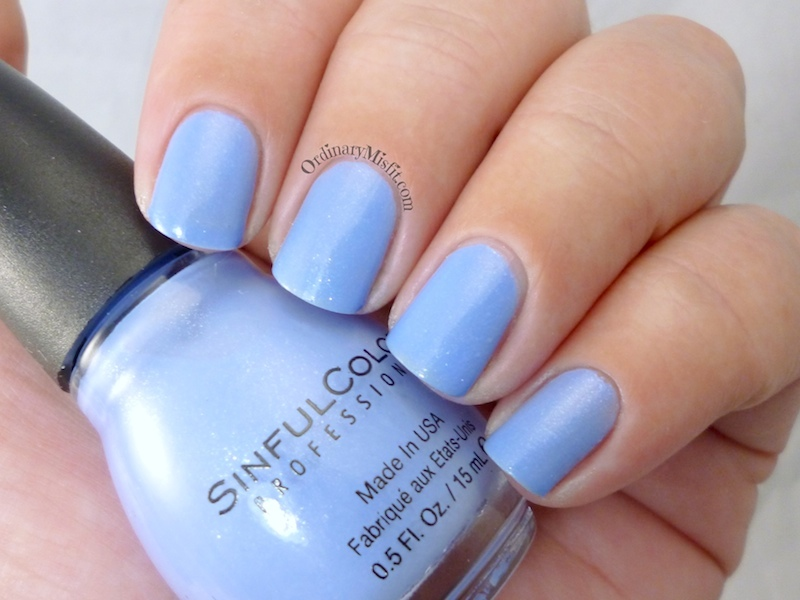Sinful Colors - Violets are blue