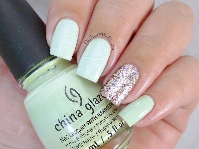 Minty glitter 3