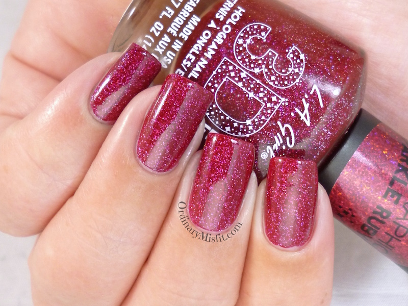LA Girl - Sparkle ruby 2