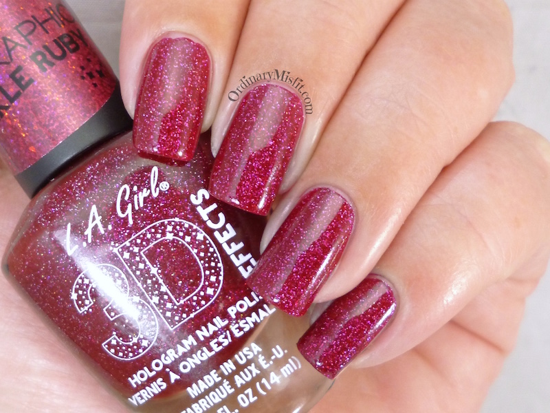 LA Girl - Sparkle ruby