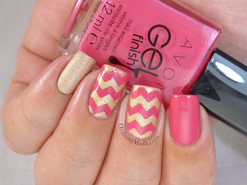 Avon Gel Finish Nail Polish Parfait Pink Ordinarymisfit