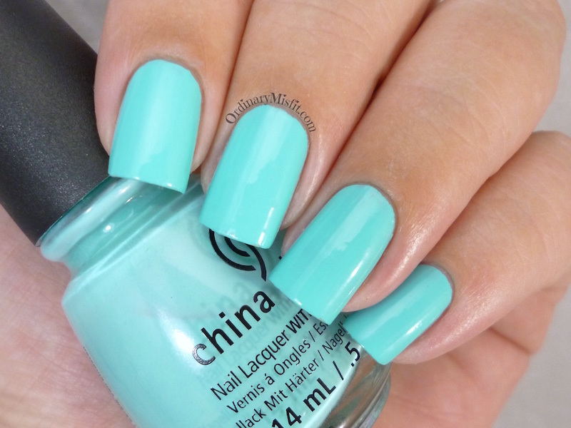 China Glaze - Too yacht to handle