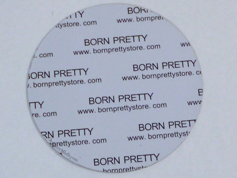 Born Pretty Store plate BP-02