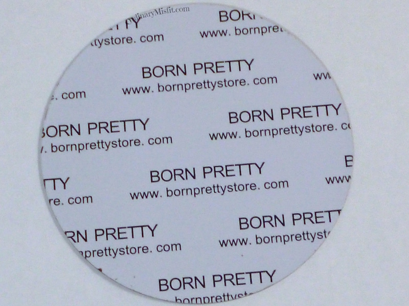 Born Pretty Store plate BP-13 2