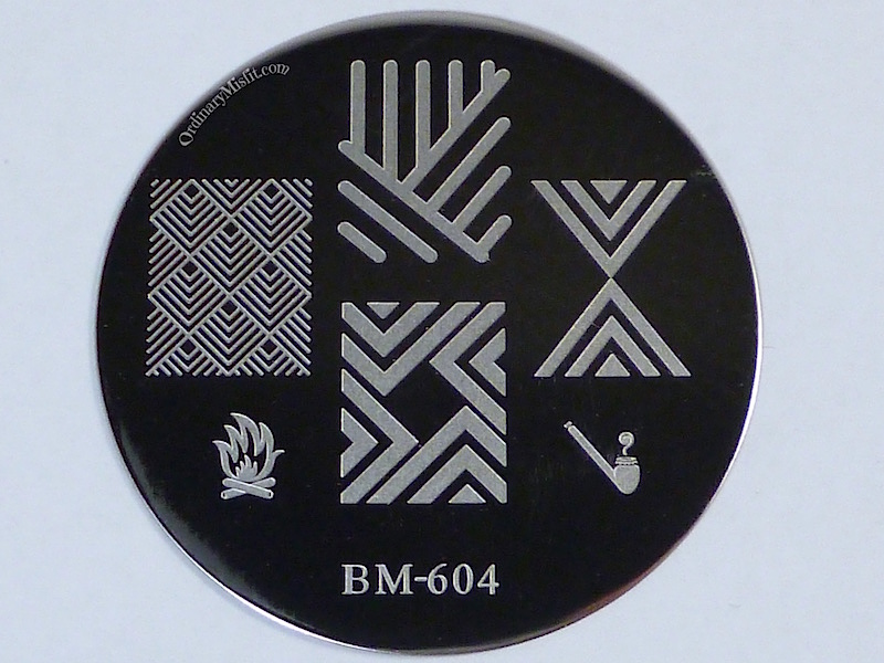Bundle Monster 'Create Your Own' 2014 stamping plates BM604