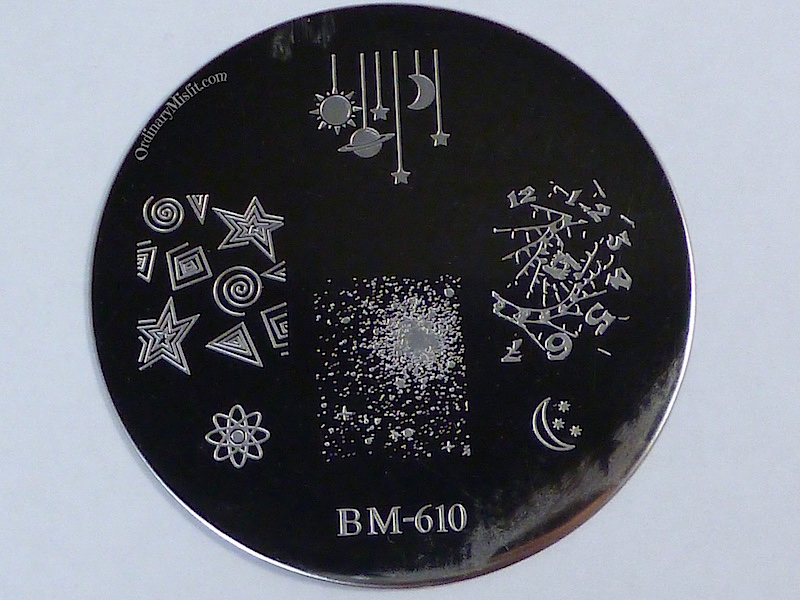 Bundle Monster 'Create Your Own' 2014 stamping plates BM610