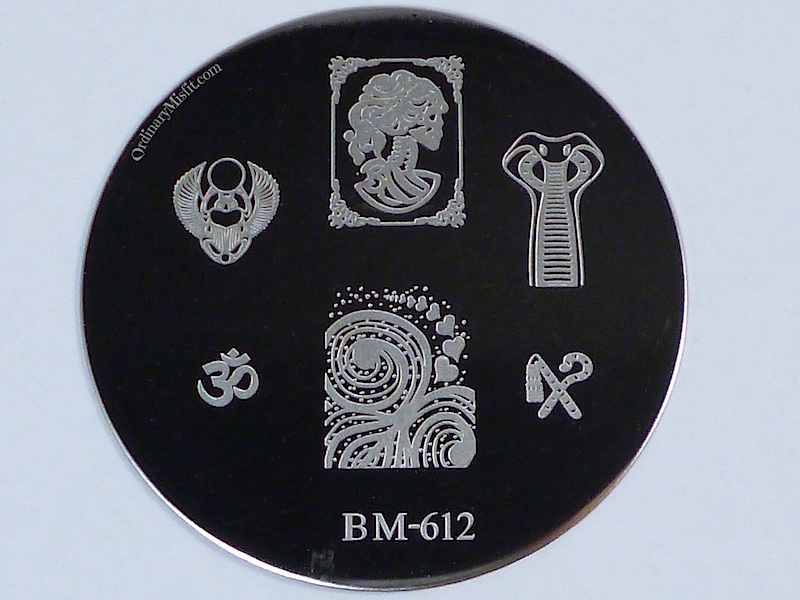 Bundle Monster 'Create Your Own' 2014 stamping plates BM612