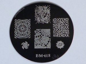 Bundle Monster 'Create Your Own' 2014 stamping plates BM618