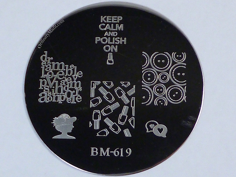 Bundle Monster 'Create Your Own' 2014 stamping plates BM619