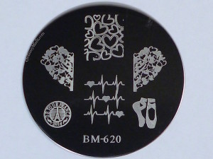 Bundle Monster 'Create Your Own' 2014 stamping plates BM620