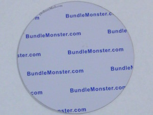 Bundle Monster 'Create Your Own' 2014 stamping plates back of plate