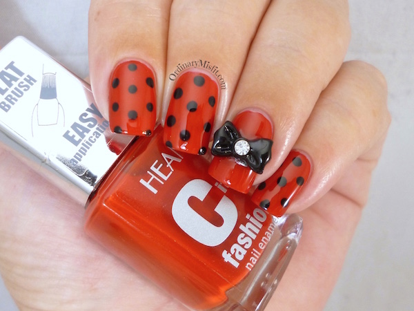 Hean City Fashion #156 with nail art 3