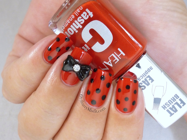 Hean City Fashion #156 with nail art
