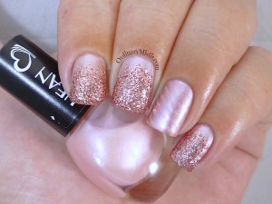 Hean I love Hean collection #411 with nail art