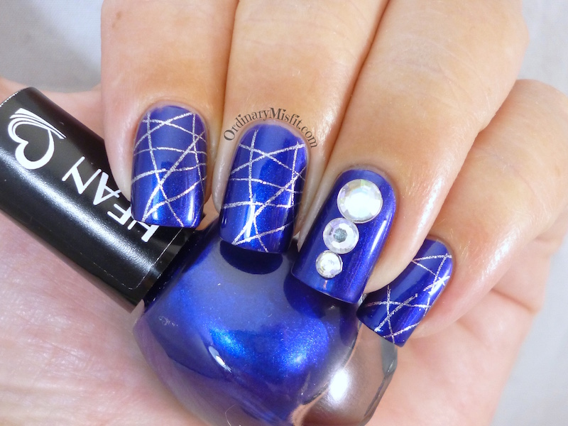 Hean I love Hean collection #466 with nail art
