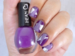 Hean I love Hean collection #805 with nail art