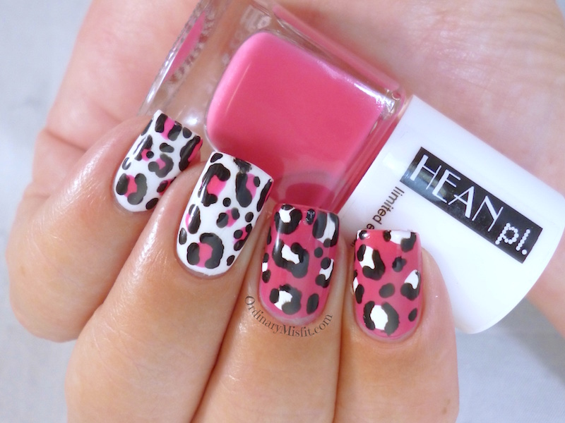 Hean Summer Collection #230 with nail art