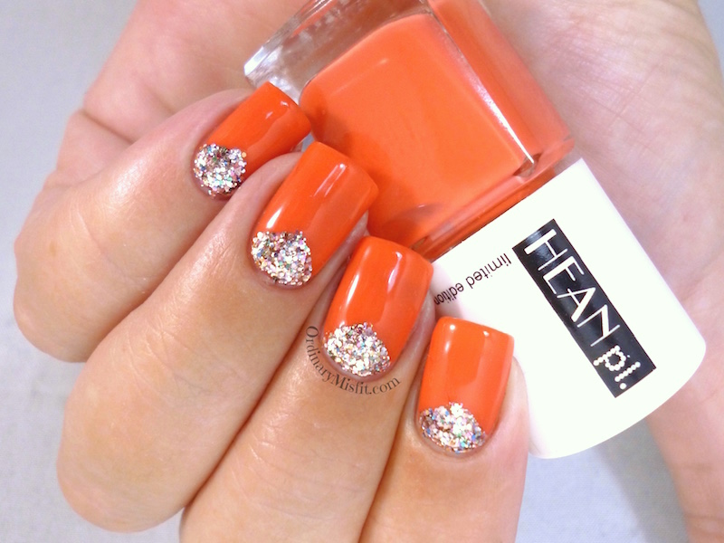 Hean Summer Collection #232 with nail art 2