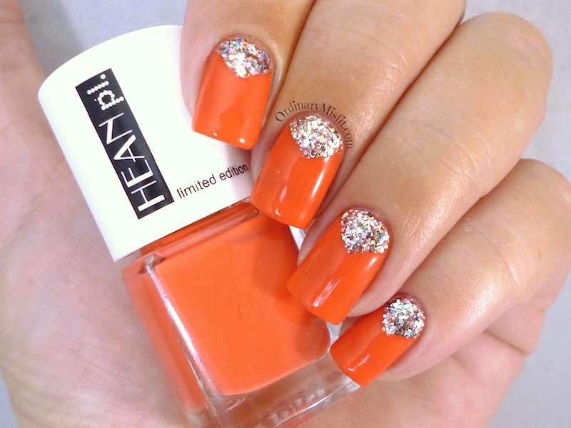 Hean Summer Collection #232 with nail art