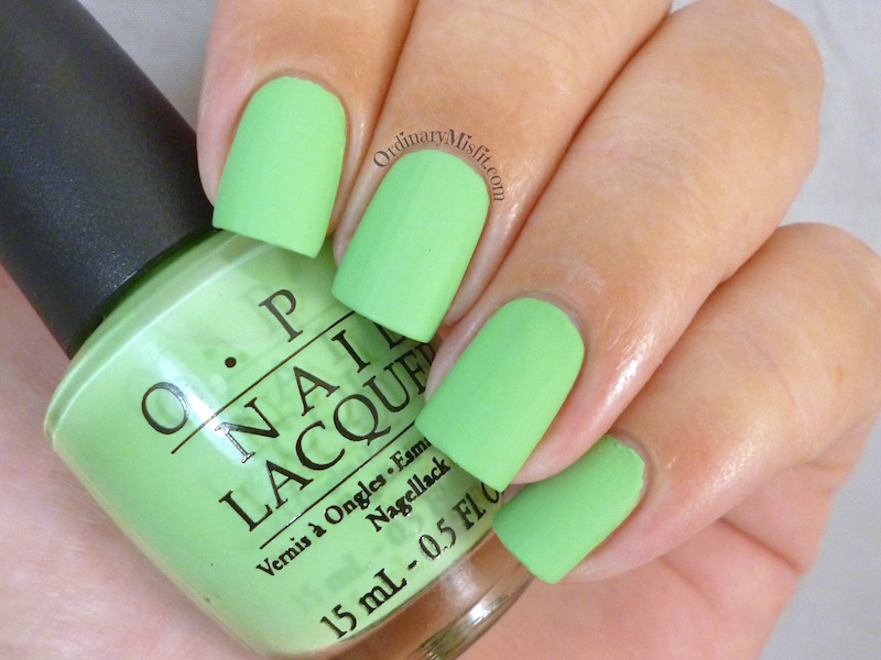 OPI - Gargantuan green grape (matte)
