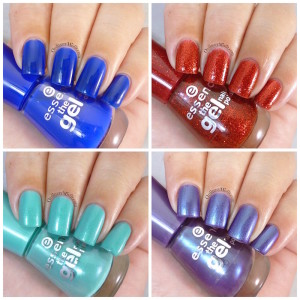 Essence The Gel polishes collage