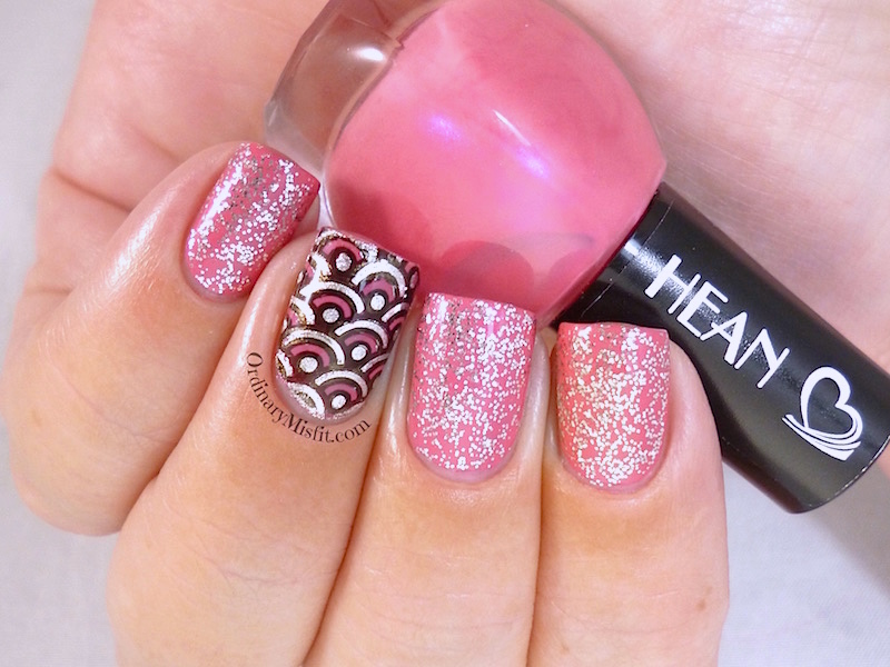 Hean I love Hean collection #807 with nail art