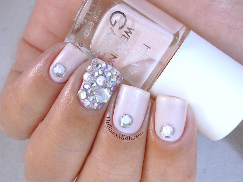 Hean Wedding Garden collection #642 with nail art 2