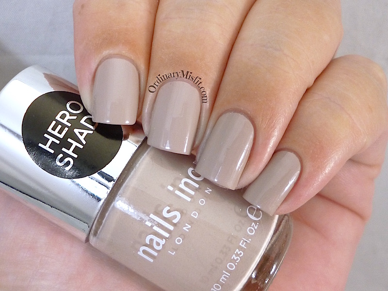 Nails Inc - Porchester Square nail polish swatch