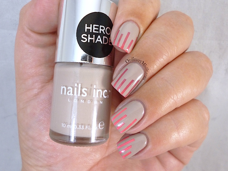 Nails Inc Porchester square and notting hill gate nail art