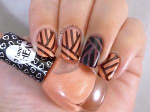 Hean I love Hean Sugar collection #857 with nail art
