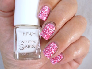 Hean Wedding Garden collection #635 - With every breath with nail art