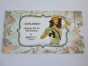 Moyou Stamping plate Explorer 3 in cover