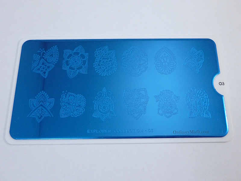 Moyou Stamping plate Explorer 3 with film