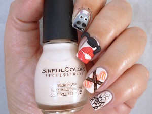 Nail Anarchy Challenge May Abby Sciuto NCIS nail art