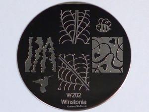 Winstonia stamping plate W202