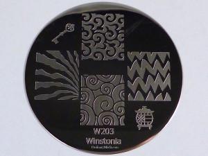 Winstonia stamping plate W203