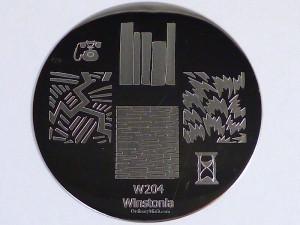 Winstonia stamping plate W204