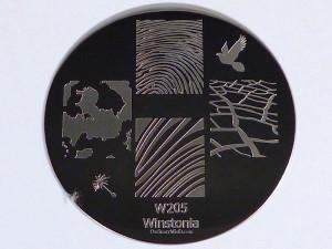 Winstonia stamping plate W205