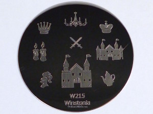 Winstonia stamping plate W215