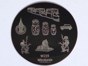 Winstonia stamping plate W219